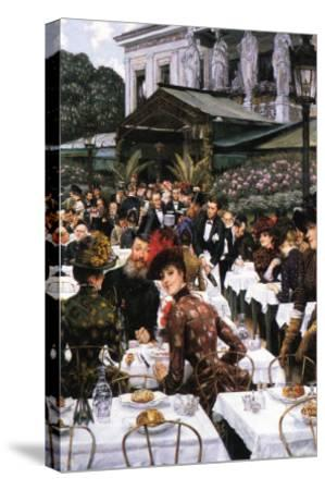 The Women of The Artist-James Tissot-Stretched Canvas Print