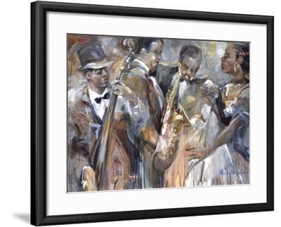 All About Jazz II-Marysia-Framed Premium Giclee Print