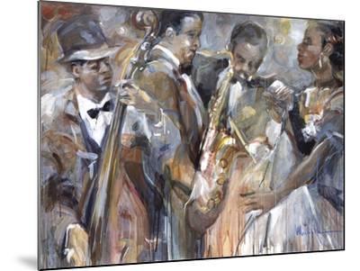 All About Jazz II-Marysia-Mounted Premium Giclee Print
