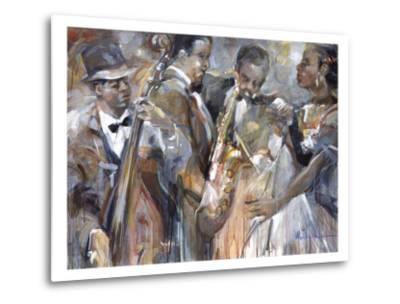 All About Jazz II-Marysia-Metal Print