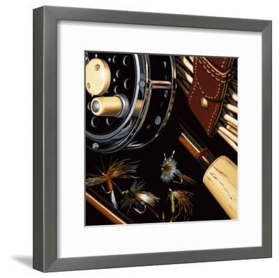 Fly Fishing-Ray Pelley-Framed Premium Giclee Print
