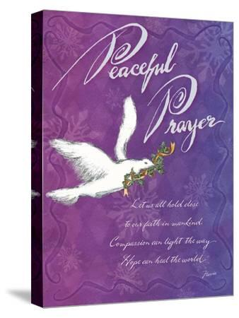 Peaceful Prayer-Flavia Weedn-Stretched Canvas Print