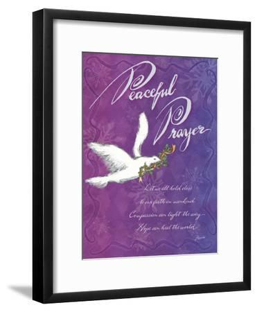 Peaceful Prayer-Flavia Weedn-Framed Giclee Print