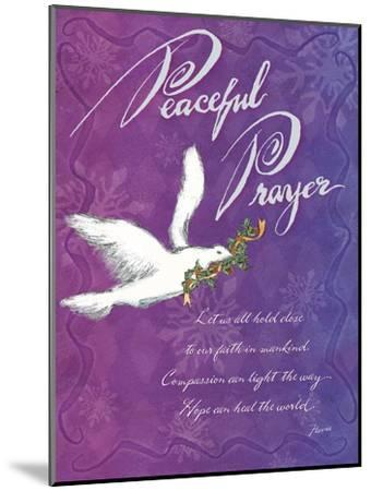 Peaceful Prayer-Flavia Weedn-Mounted Giclee Print