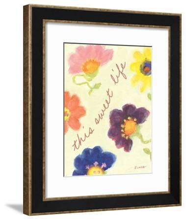 This Sweet Life-Flavia Weedn-Framed Giclee Print