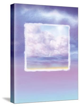 Lavender Sky--Stretched Canvas Print