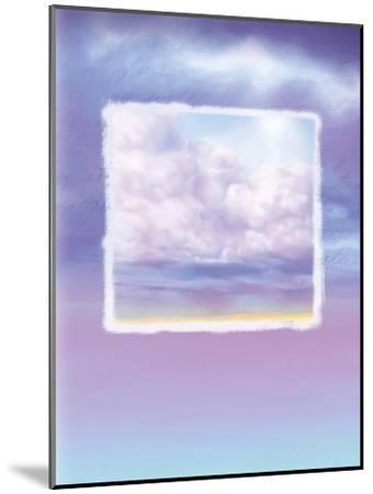 Lavender Sky--Mounted Giclee Print