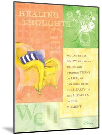 Healing Thoughts-Flavia Weedn-Mounted Giclee Print