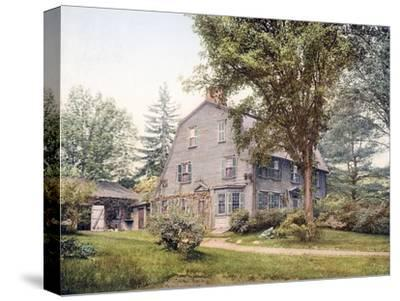 The Old Manse Concord Massachusetts--Stretched Canvas Print