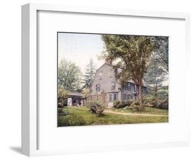 The Old Manse Concord Massachusetts--Framed Giclee Print