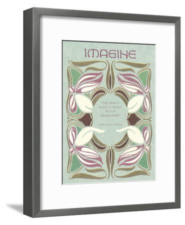 Imagine--Framed Giclee Print