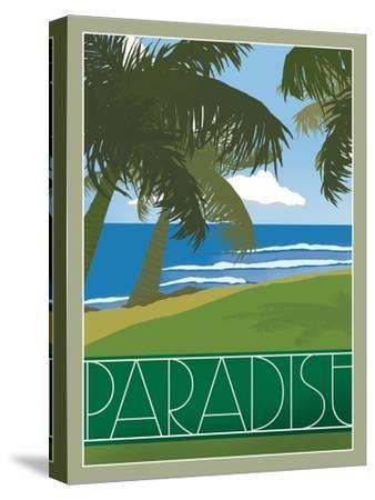 Paradise--Stretched Canvas Print