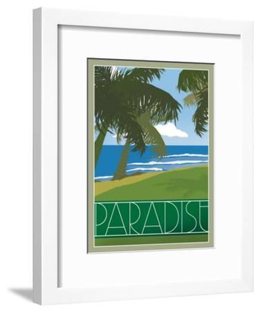 Paradise--Framed Giclee Print