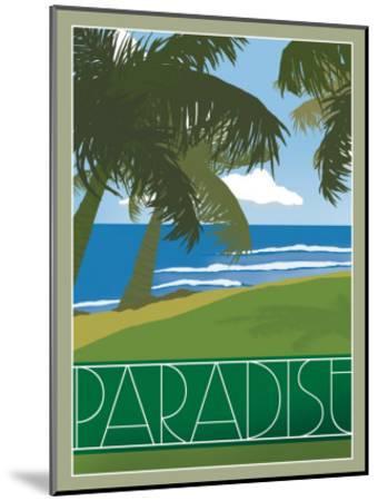 Paradise--Mounted Giclee Print