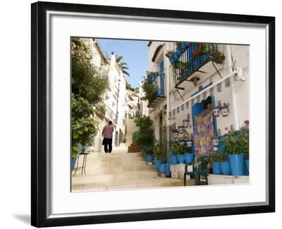 Casco Antiguo, Santa Cruz Quarter, Alicante, Valencia Province, Spain, Europe-Guy Thouvenin-Framed Photographic Print