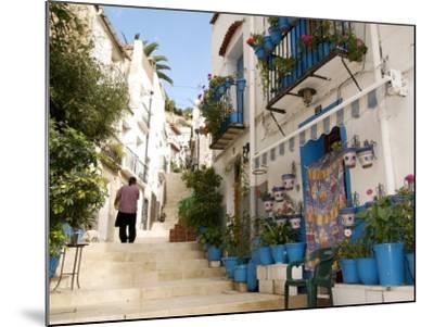 Casco Antiguo, Santa Cruz Quarter, Alicante, Valencia Province, Spain, Europe-Guy Thouvenin-Mounted Photographic Print