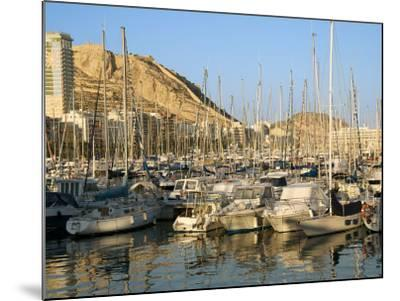 Harbour, Hotel Tryp Gran Sol, Alicante, Valencia Province, Spain-Guy Thouvenin-Mounted Photographic Print