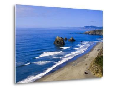 Coastline Near Crescent City, Northern California, United States of America, North America-Michael DeFreitas-Metal Print