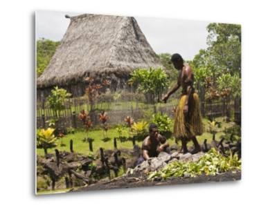 Polynesian Cultural Center, Viti Levu, Fiji, South Pacific, Pacific-Michael DeFreitas-Metal Print