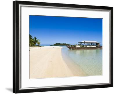 Aitutaki, Cook Islands, South Pacific, Pacific-Michael DeFreitas-Framed Photographic Print