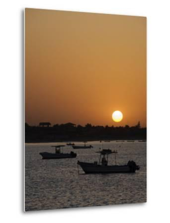 Sunrise at Saly, Senegal, West Africa, Africa-Robert Harding-Metal Print