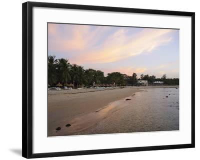Sunset at Saly, Senegal, West Africa, Africa-Robert Harding-Framed Photographic Print