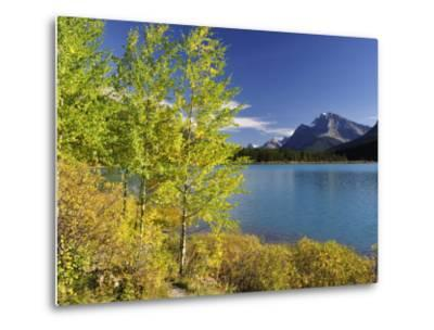 Waterfowl Lake, Banff National Park, UNESCO World Heritage Site, Rocky Mountains, Alberta, Canada, -Jochen Schlenker-Metal Print