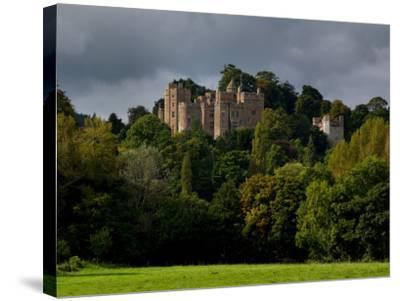 Dunster Castle, Somerset, England, United Kingdom, Europe-Charles Bowman-Stretched Canvas Print