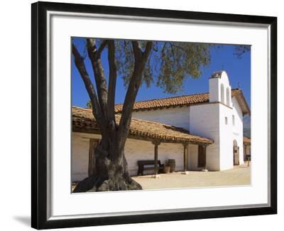 Church, El Presidio De Santa Barbara State Historic Park, Santa Barbara, California, United States -Richard Cummins-Framed Photographic Print