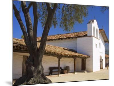 Church, El Presidio De Santa Barbara State Historic Park, Santa Barbara, California, United States -Richard Cummins-Mounted Photographic Print