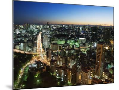 City Skyline View from Tokyo Tower, Tokyo, Japan, Asia-Christian Kober-Mounted Photographic Print