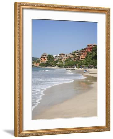 Playa La Ropa, Pacific Ocean, Zihuatanejo, Guerrero State, Mexico, North America-Wendy Connett-Framed Photographic Print