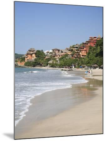 Playa La Ropa, Pacific Ocean, Zihuatanejo, Guerrero State, Mexico, North America-Wendy Connett-Mounted Photographic Print