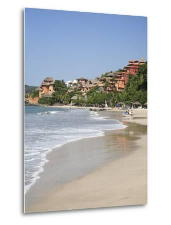 Playa La Ropa, Pacific Ocean, Zihuatanejo, Guerrero State, Mexico, North America-Wendy Connett-Metal Print
