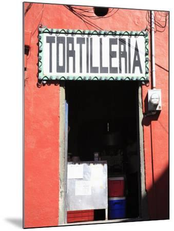 Tortilleria (Tortilla Shop), Guanajuato, Guanajuato State, Mexico, North America-Wendy Connett-Mounted Photographic Print