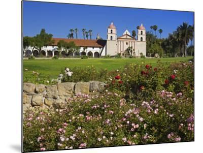 Old Mission Santa Barbara, Santa Barbara, California, United States of America, North America-Richard Cummins-Mounted Photographic Print