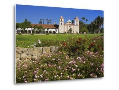Old Mission Santa Barbara, Santa Barbara, California, United States of America, North America-Richard Cummins-Metal Print