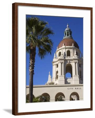 City Hall, Pasadena, Los Angeles, California, United States of America, North America-Richard Cummins-Framed Photographic Print