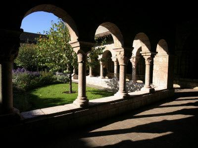 Cuxa Cloister Dating from the 12th Century, Cloisters of New York, New York-Godong-Framed Photographic Print