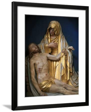 Pieta, Pont-L'Abbe, Finistere, Brittany, France, Europe-Godong-Framed Photographic Print