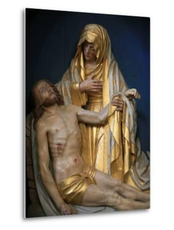 Pieta, Pont-L'Abbe, Finistere, Brittany, France, Europe-Godong-Metal Print