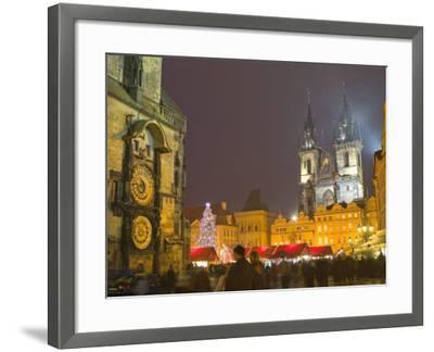 Old Town Hall, Astronomical Clock, Prague, Czech Republic-Marco Cristofori-Framed Photographic Print