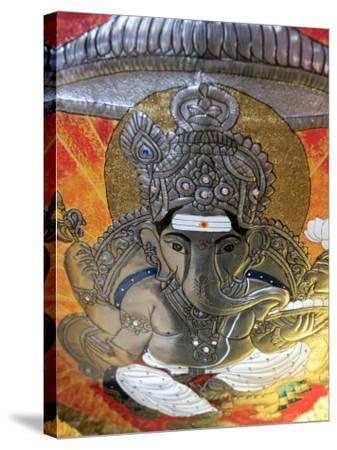 Ganesh, Batu Caves, Kuala Lumpur, Malaysia, Southeast Asia, Asia-Godong-Stretched Canvas Print