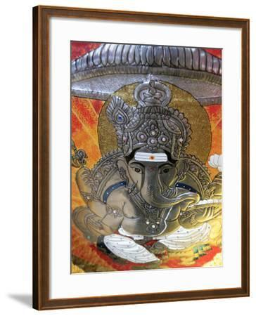 Ganesh, Batu Caves, Kuala Lumpur, Malaysia, Southeast Asia, Asia-Godong-Framed Photographic Print