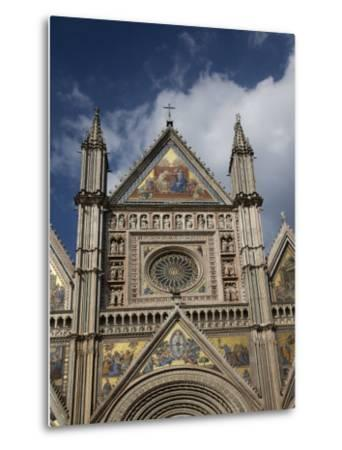 Cathedral (Duomo), Orvieto, Umbria, Italy, Europe-Angelo Cavalli-Metal Print