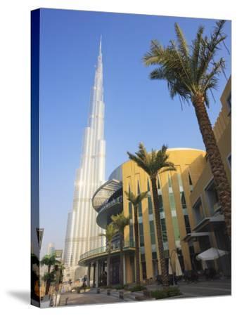 Burj Khalifa, the Tallest Tower in World at 818M, Downtown Burj Dubai, Dubai, United Arab Emirates-Amanda Hall-Stretched Canvas Print