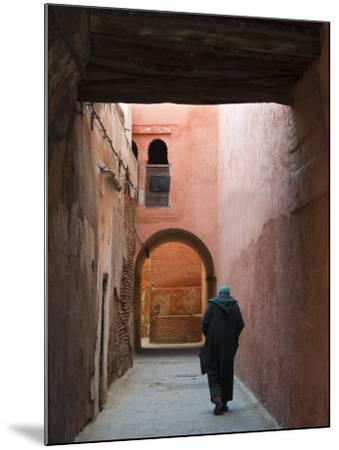 Street in the Souk, Medina, Marrakech (Marrakesh), Morocco, North Africa, Africa-Nico Tondini-Mounted Photographic Print