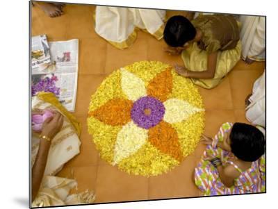 Onam Celebrations, Kerala, India-Balan Madhavan-Mounted Photographic Print