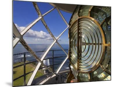 Point Vincente Lighthouse Lens, Palos Verdes Peninsula, Los Angeles, California-Richard Cummins-Mounted Photographic Print