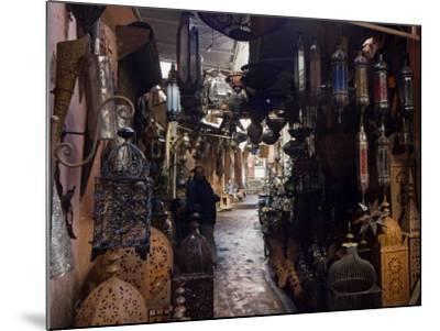 Souk, Marrakech (Marrakesh), Morocco, North Africa, Africa-Nico Tondini-Mounted Photographic Print